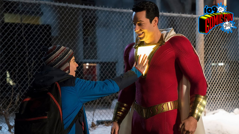 Illustration for article titled The First Shazam! Trailer Finally Lets the DC Universe Have Some Fun