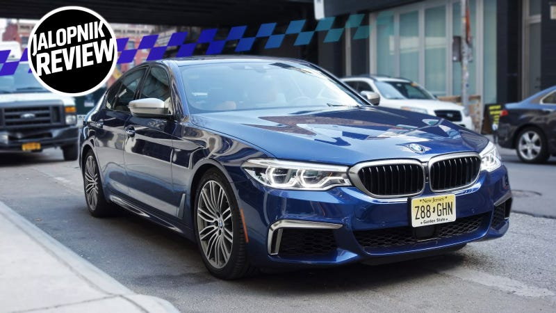 The 2018 BMW M550i Won't Leave You Wanting More
