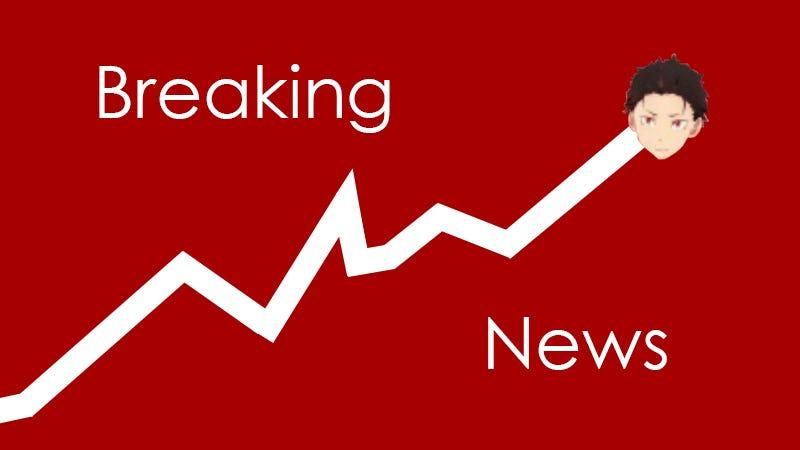 Illustration for article titled Blimp - Re:Zero Stocks on the Rise!