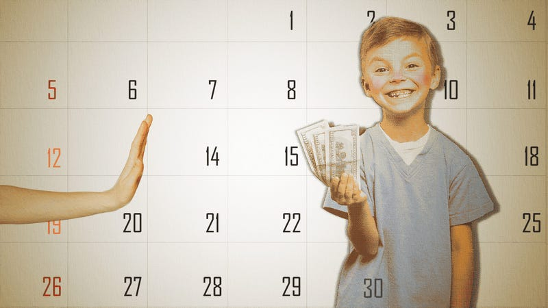 "Illustration for article titled How to Teach Kids the ""Time Value"" of Money"