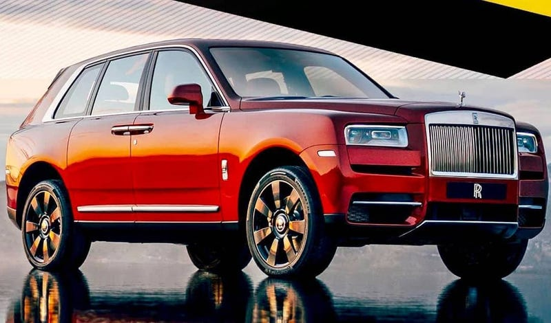 Illustration for article titled Here's The Rolls-Royce Cullinan Way Before You're Supposed To See It