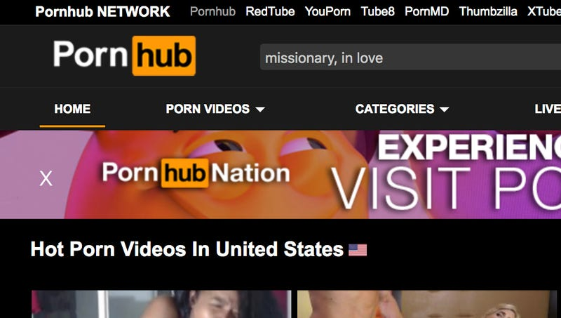 Illustration for article titled Study Finds 'Missionary,' 'In Love' Most Popular Porn Search Terms