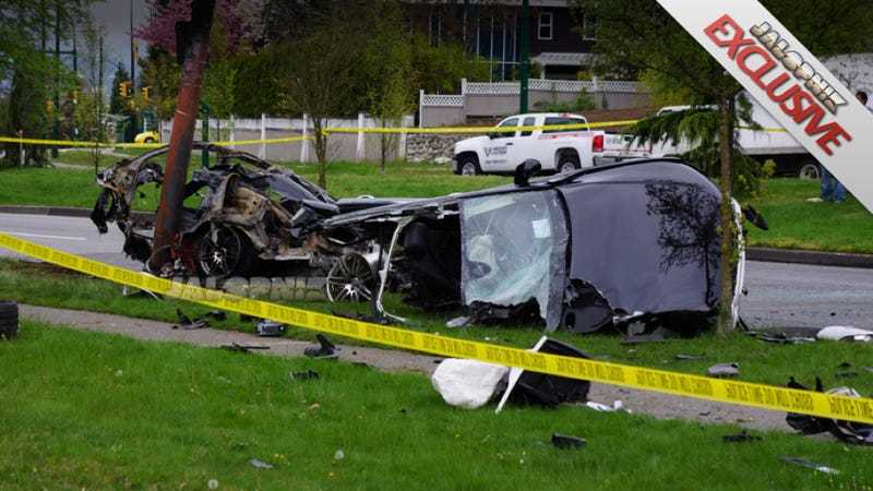 Illustration for article titled Holy Crap! How Did Anyone Survive This Explosive Audi Crash?