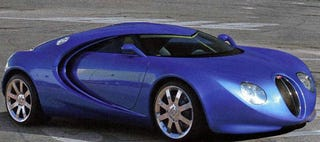 Illustration for article titled The Bugatti Veyron That Never Was