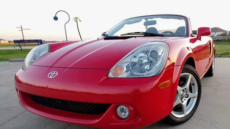 At 3 700 Could This 2001 Toyota Mr2 Spyder Be Your Rough