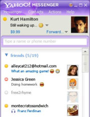 Illustration for article titled Yahoo Messenger 9 Beta Adds Forwarding, Picture Sharing
