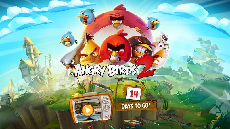 "Illustration for article titled Rovio announces Angry Birds 2, the ""first"" sequel to Angry Birds"