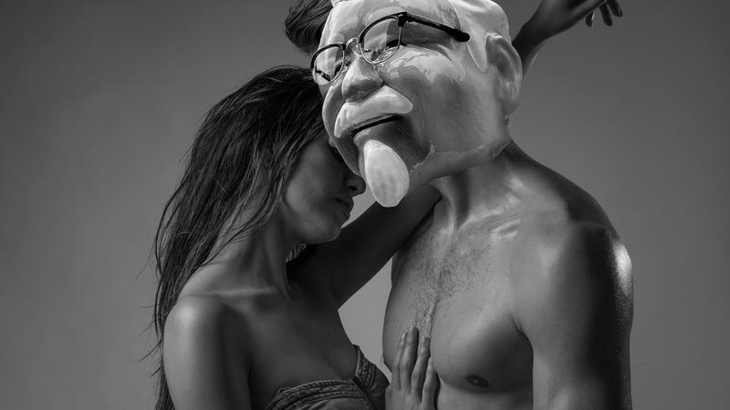 Illustration for article titled Colonel Sanders is CGI and here to bone