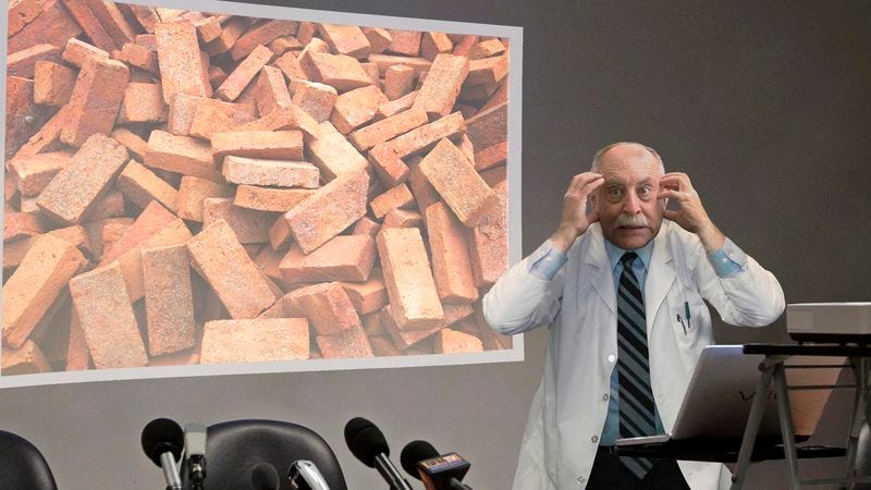 Completely unhinged researchers say the bricks will stop at nothing and are incapable of being reasoned with.