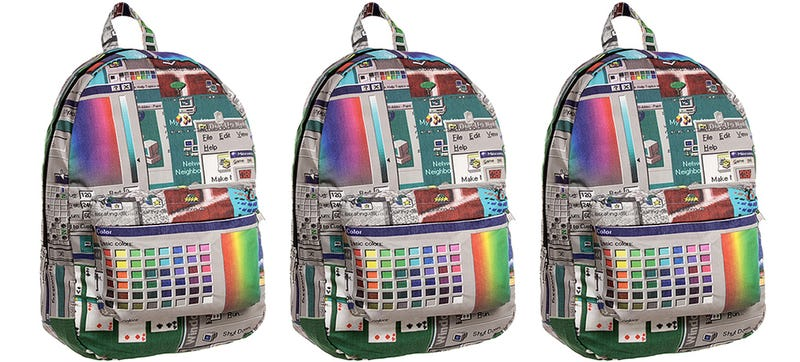 Illustration for article titled Celebrate the Return Of the Start Menu With a Windows 95 Backpack