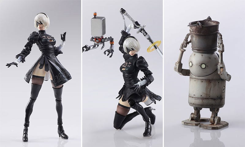 Illustration for article titled Look At These Nier Action Figures