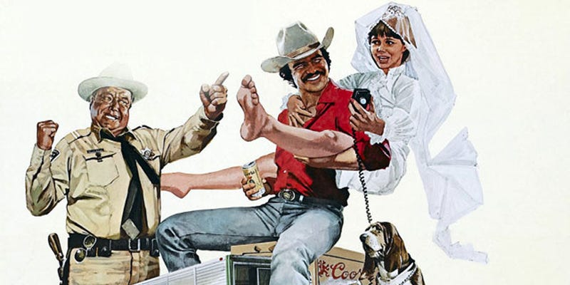 Illustration for article titled Motorized Movies: Smokey and the Bandit (1977)