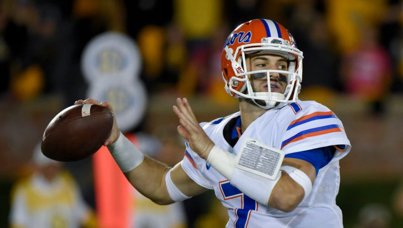 Illustration for article titled Report: Florida QB Will Grier Suspended Rest Of Season For Using PEDs