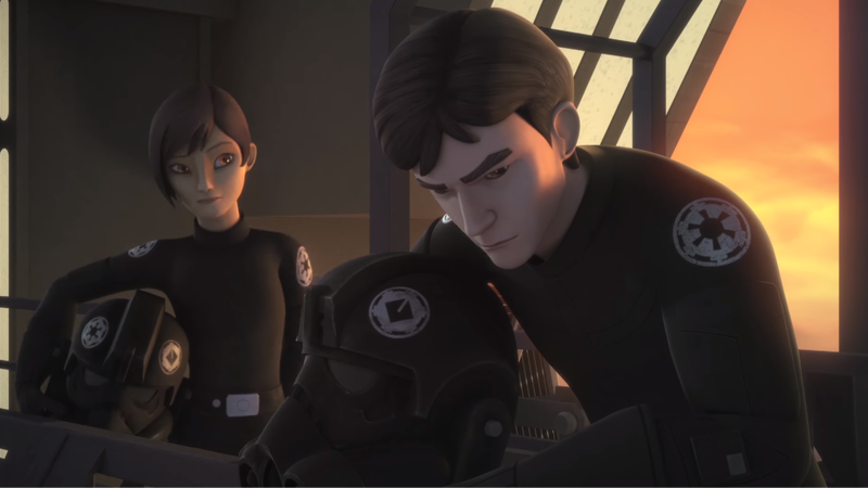Illustration for article titled A New Star Wars RebelsClip Shows HowWedge Antilles Joined the Rebellion