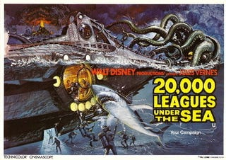 Illustration for article titled David Fincher To Tackle Disney's 20,000 Leagues Under The Sea Remake