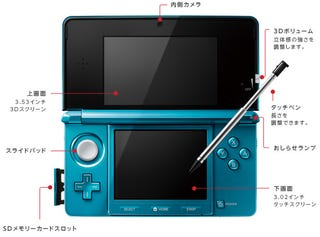 Illustration for article titled 3DS Gets Price, Date, Streaming TV, Games, Details