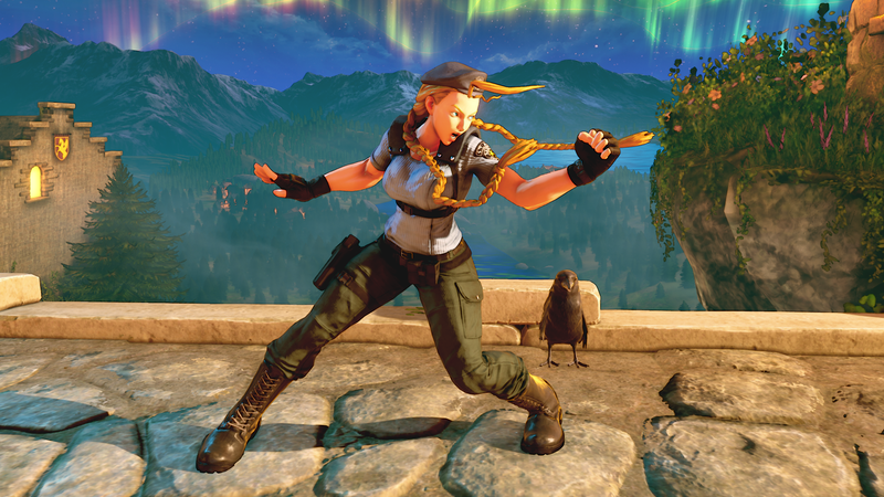 Illustration for article titled Cammy Is Finally Getting Pants In Street Fighter V