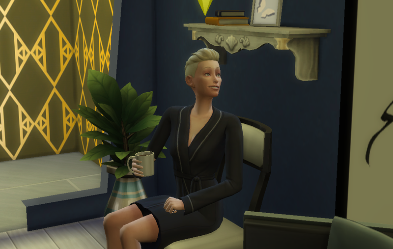 Illustration for article titled The Sims 4 Celebrity House Update: Tilda Swinton Saves Drake's Life