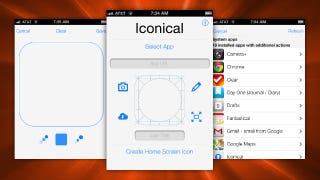 Illustration for article titled Iconical Changes Icons On Your iOS Homescreen, No Jailbreak Required