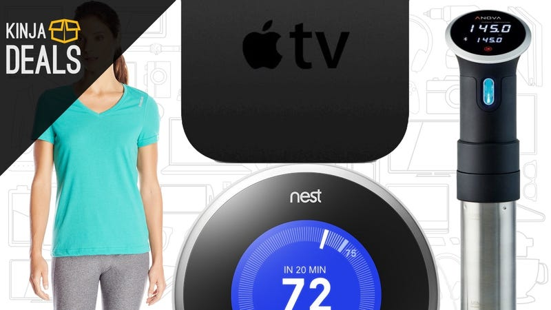 Illustration for article titled Today's Best Deals: Sous Vide Circulator, Reebok Workout Gear, Apple TV, and More