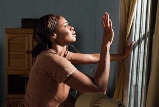 "Kimberly Elise in ""For Colored Girls"" (Quantrell Colbert)"