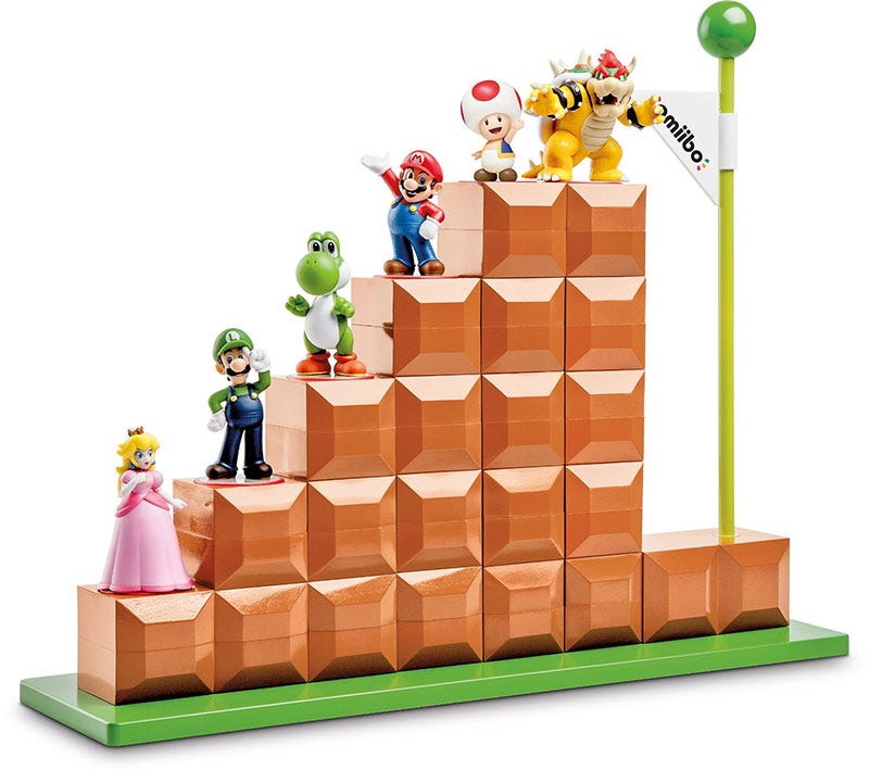 Illustration for article titled Look At This Amiibo Display Stand