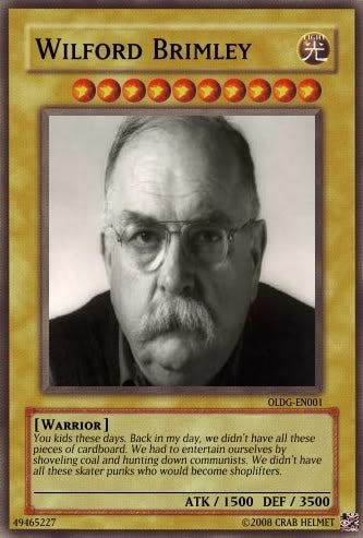 Illustration for article titled Wilford Brimley Thread