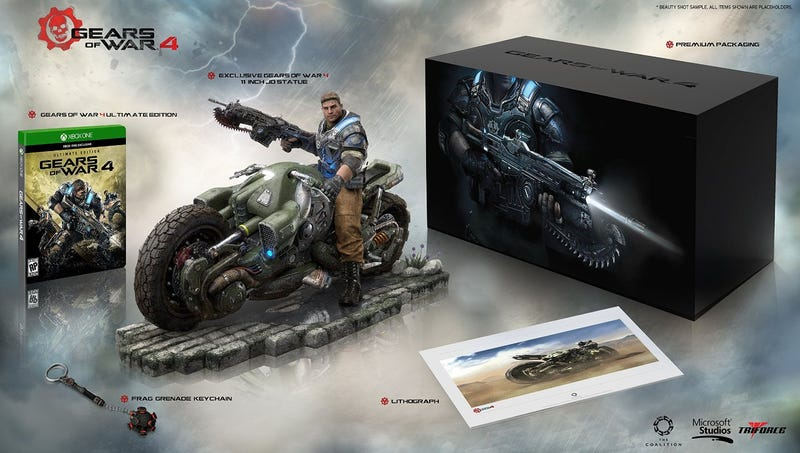 Illustration for article titled Gears of War 4 is getting a collector's edition