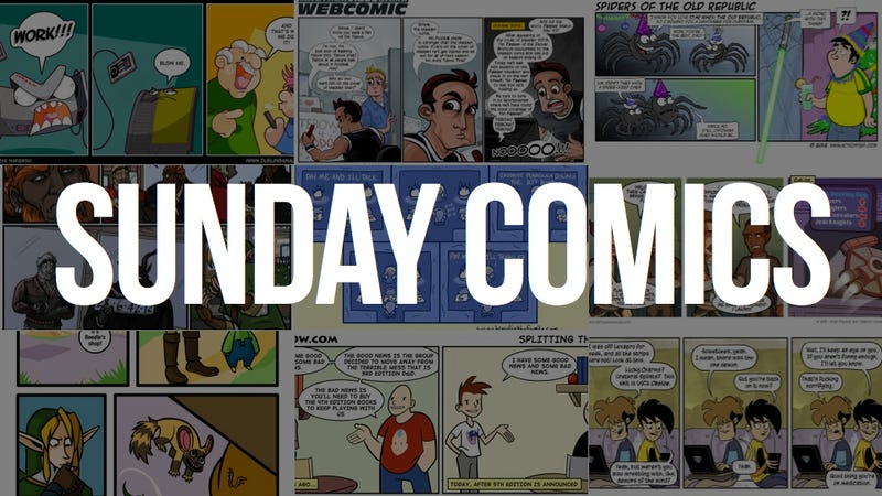 Illustration for article titled Sunday Comics: Blow Me