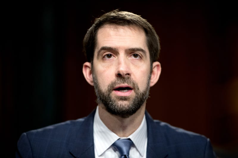 Cotton booed for defending Trump on tax returns