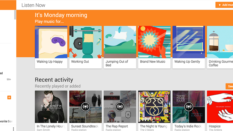 Google Play Music Gets a New Look and Songza's Suggestion ...