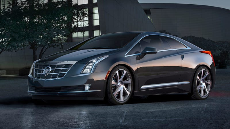 Illustration for article titled 2014 Cadillac ELR: This Is What Happens When A Volt And An ATS Get Dirty