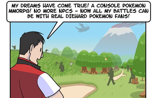 Maybe A Pokémon MMO Wouldn't Be As Awesome As We Think