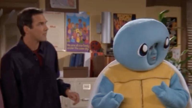 Just Norm MacDonald, having a Pokémon battle on his old sitcom