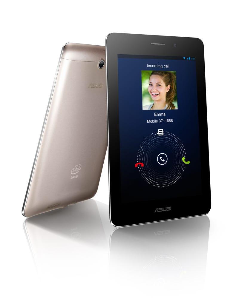 """Illustration for article titled Asus presenta su propio """"tabletófono"""" Android de 7 pulgadas, el Fonepad"""
