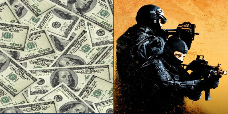 Illustration for article titled The Counter-Strike Gambling Scandal, Explained