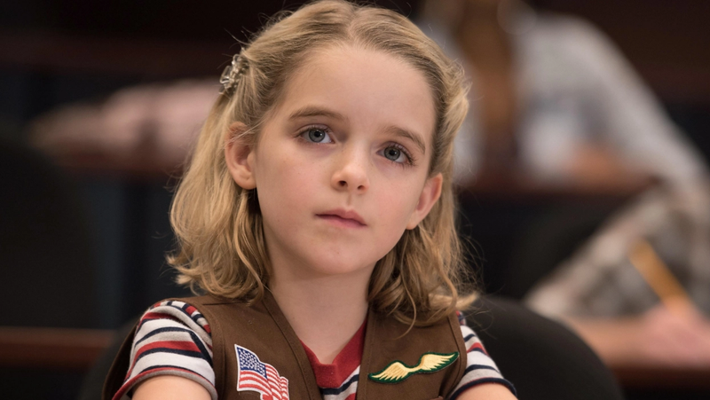 Mckenna Grace in Gifted.