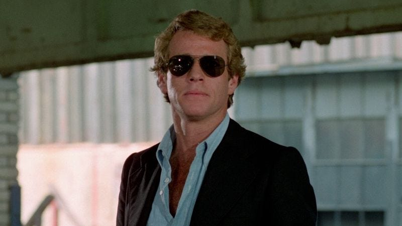 (Photo: Ryan O'Neal in The Driver)
