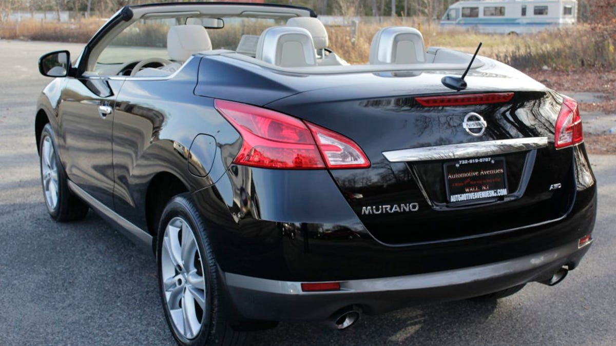 High Quality For $17,995, This 2011 Nissan Murano CrossCabriolet Could Let Your Freak  Flag Fly