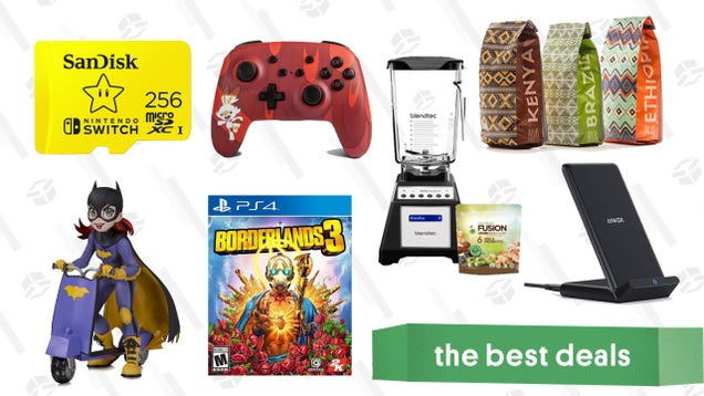 Wednesday s Best Deals: Anker PowerWave Stand, Pokémon Switch Controller, Atlas Coffee Club Freebie, Blendtec Bundle, and More