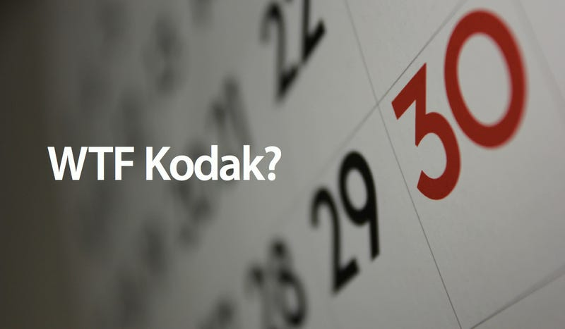 Illustration for article titled Kodak Used a Calendar With 13 Months