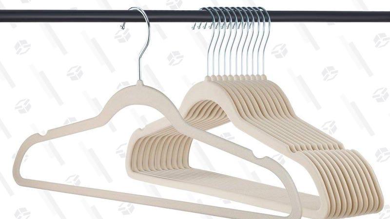 Home-It 50-Pack Velvet Hangers | $18 | Amazon