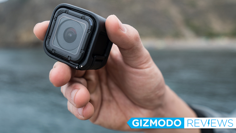 Illustration for article titled GoPro's New Camera Is a Tiny Cube. I Took It on Adventures.