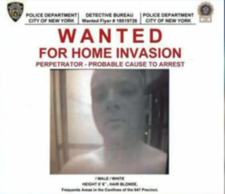 "Eugene Donnelly's ""wanted"" flier after he allegedly assaulted an unsuspecting woman in her own homePIX11"