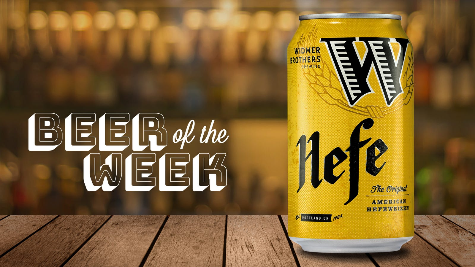 Beer Of The Week: Widmer Brothers Hefeweizen is an exemplary beer I can't believe I missed