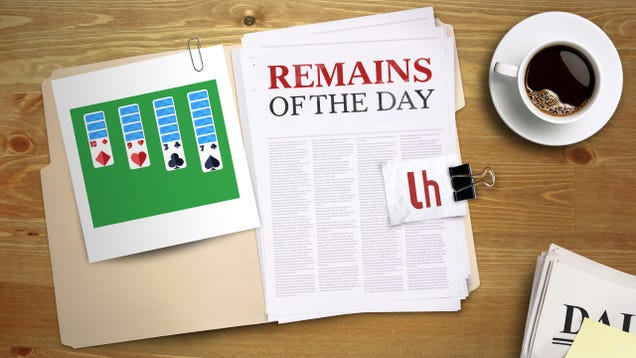 Remains of the Day: Google Delivers a New Way to Procrastinate Online