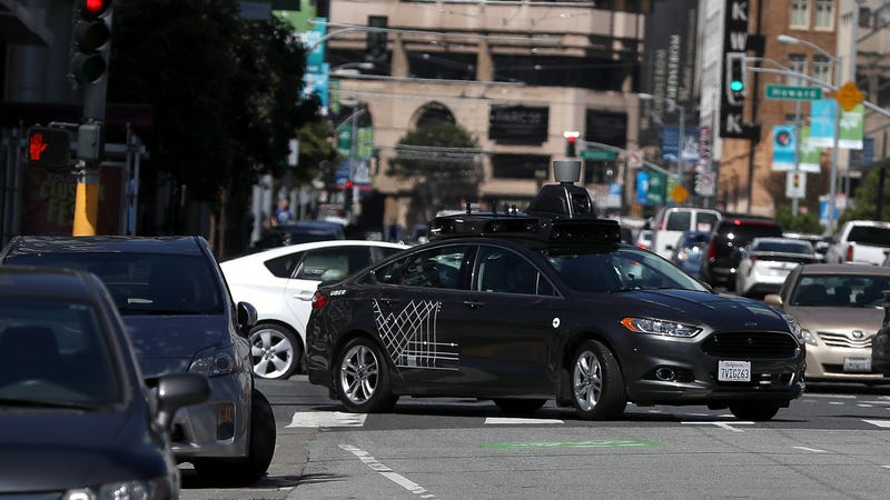Feds vow to clear road for self-driving vehicle  makers