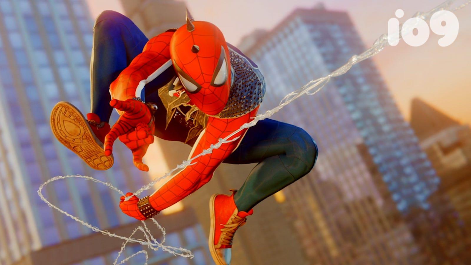 spider-man ps4's unlockable costumes: the comic book origins