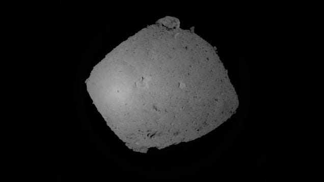 Hayabusa2 s First Practice Attempt to Landon Ryugu Asteroid Didn't Go So Well
