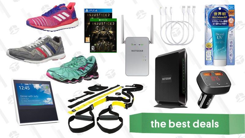 Illustratie voor artikel getiteld Wednesday's Best Deals: loopschoenen, TRX-veringsset, wijnkoelkasten en meer